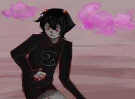 Homestuck screencap redraw by Zensoko