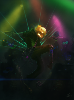 Zombie rave by SimonWeaner