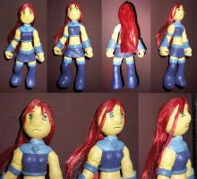 Starfire art toy by Katmai-la-droga