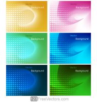Colorful Gradient Mesh Background Design by 123freevectors