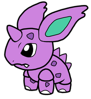 Nidorino Pokedoll Art by methuselah-alchemist