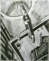 Charcoal Collage by Kasun05
