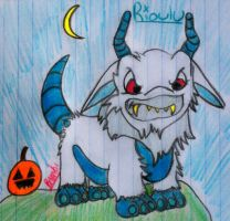 Hallow Poogle by HopeGallops