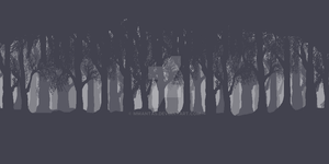 Pixel Forest Background by MMantas