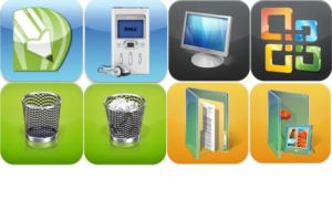 Custom iphone Icons by ripper23