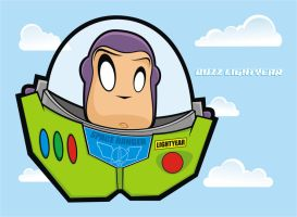 Heads Up Buzz Lightyear by HeadsUpStudios