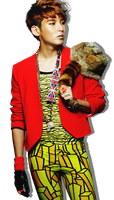 RyeoWook (Mr Simple) (PNG) by capsvini