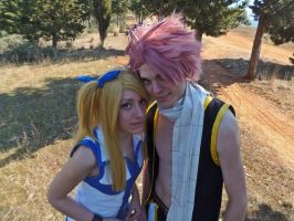 Natsu And Lucy by rascret