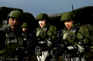 UNSC Asian Marines by LordHayabusa357