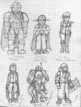 Acolyte Comic Cast Sketch by NyQuilDreamer
