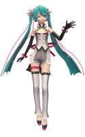 Project Diva f 2nd Miku Dimension by RandomDraggon