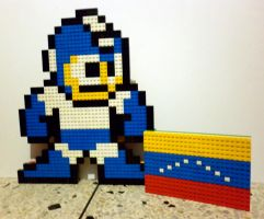 LEGO: Megaman_3 by Meufer