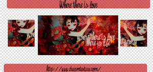 Where there is love by Hanitachawn