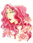 - The Forest Queen - Rose de Porcelaine by ooneithoo