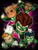 Lil Green Lantern Corp by lordmesa