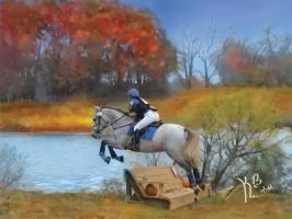 Horse Painting by KaB-art