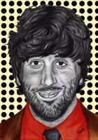 Simon Helberg  'Wolowitz' by Cleitus