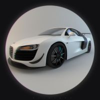 Audi R8 GT3 by Abueleitor