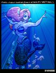 Jessiel the Hawttest Mermaid by AnyaUribe...REDUX by Bro-Harl