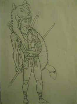 Cave-Man Warrior by Many9919