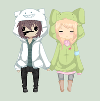 : Adorable Hoodies : by East-and-West
