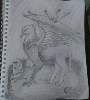 Griffin by Grimroof