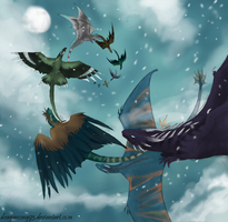 On the Wind by Dragonsong93