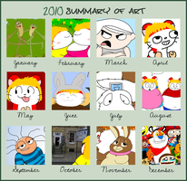 2010 Art Summary by Maxtaro