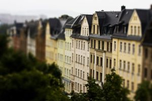 Little Houses - TiltShift by Freacore