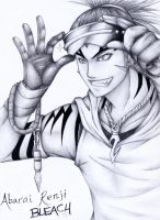 Bleach - Abarai Renji by CoolBlueX