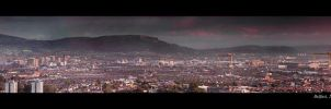 Belfast Cityscape 2009 by Hollowpoint303