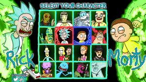 Rick And Morty: The Fighting Game by Memoski