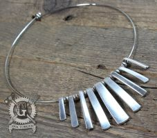 Nine Tine Neckring by Doctor-Gus