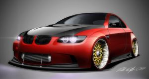 Bmw e92 M3 by dazza-mate