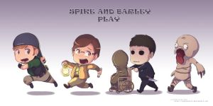 Spike and Barley fan art by Indignation