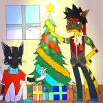 JWolfOrange13 Request Christmas+Speedpaint by NightWolfStarYT