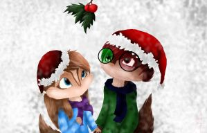 .:Mistletoe:. by Amy1Jade2Wendy3