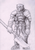 Bearman concept 1 by Adzerak