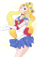 Sailor Moon by CrystalgemBabe