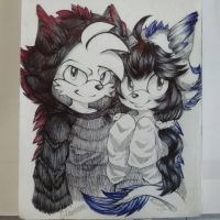 .:You Are my Big Fluffly And lovely dragon:. by Risky-su