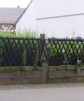 hessian village - fence by mimustock