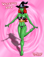 Fan art - Witchie Boo by HK666