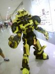 Super Deformed Bumblebee by pagawanaman