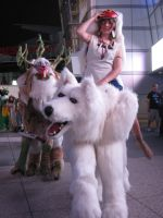 AX 2010 - Princess Mononoke by michele-bellx