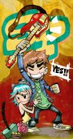 Scott Pilgrim by kraola