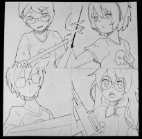 Before watercolor by rainbowPudding18