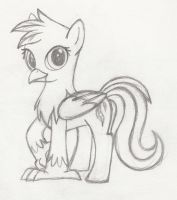 MLP FiM Hippogriff by Whimsy-Floof