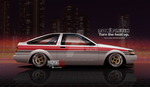80s cheese - AE86 by Axesent