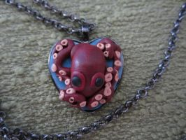 I love lusca necklace! by Rei2jewels