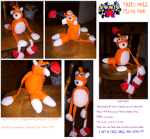 Tails Doll Plush Toy by RaeLogan